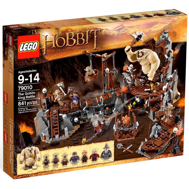 LEGO The Hobbit Sets: 79010 The Goblin King Battle NEW