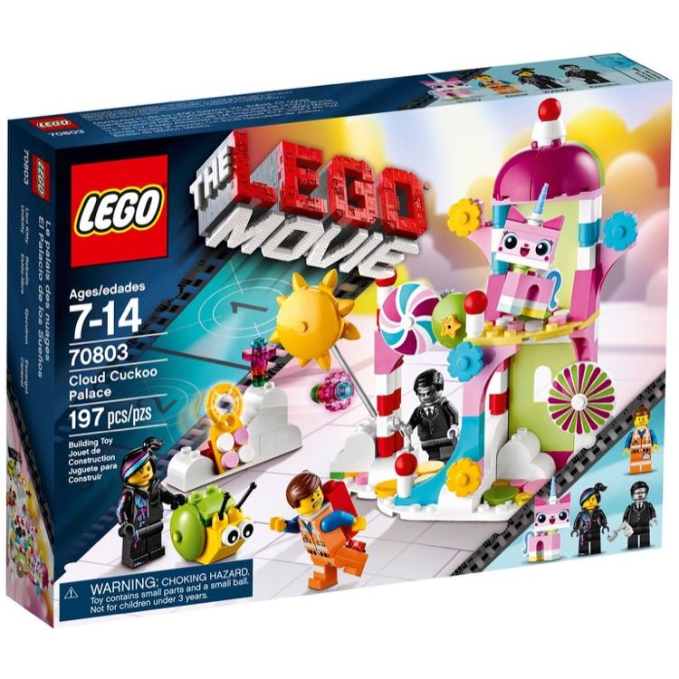 Lego The Lego Movie Sets 70803 Cloud Cuckoo Palace New