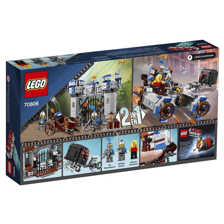 Lego The Lego Movie Sets 70806 Castle Cavalry New