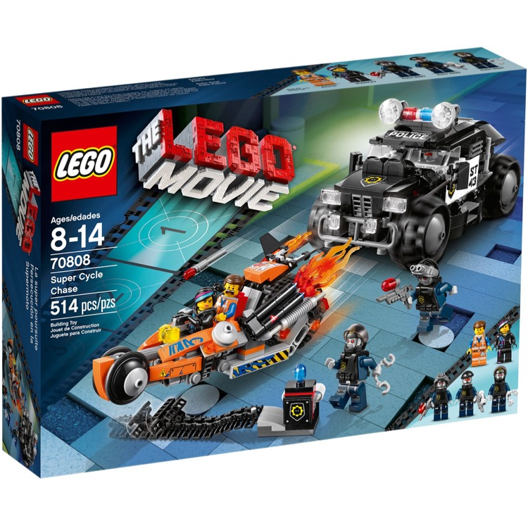 LEGO The LEGO Movie Sets: 70808 Super Cycle Chase NEW
