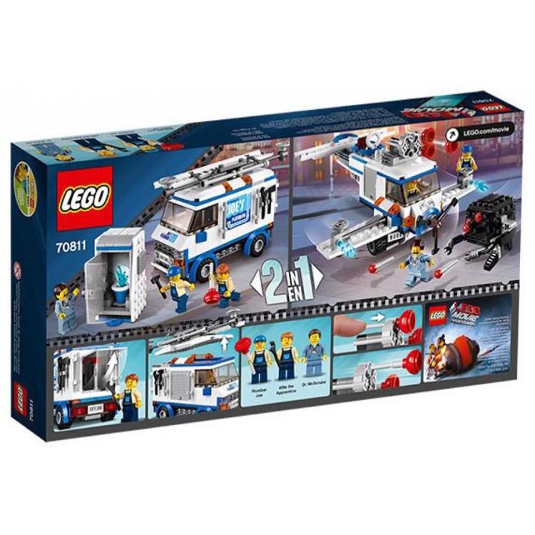 Lego The Lego Movie Sets 70811 The Flying Flusher New