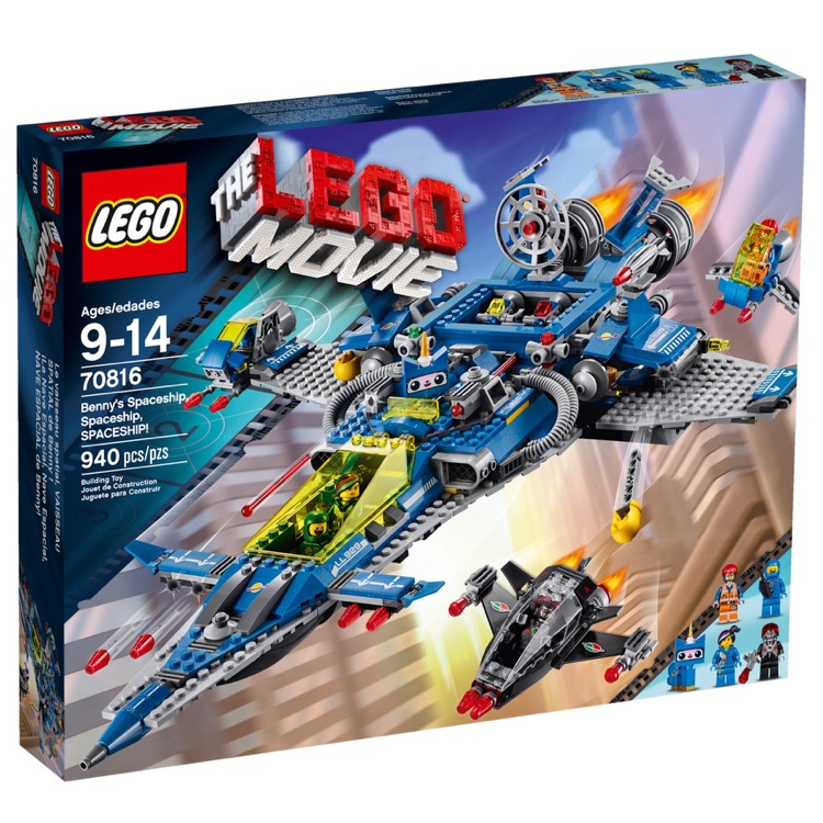 LEGO The LEGO Movie Sets: 70816 Benny's Spaceship, Spaceship, SPACESHIP! NEW