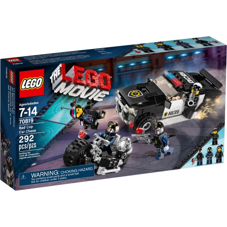 LEGO The LEGO Movie Sets: 70819 Bad Cop Car Chase NEW
