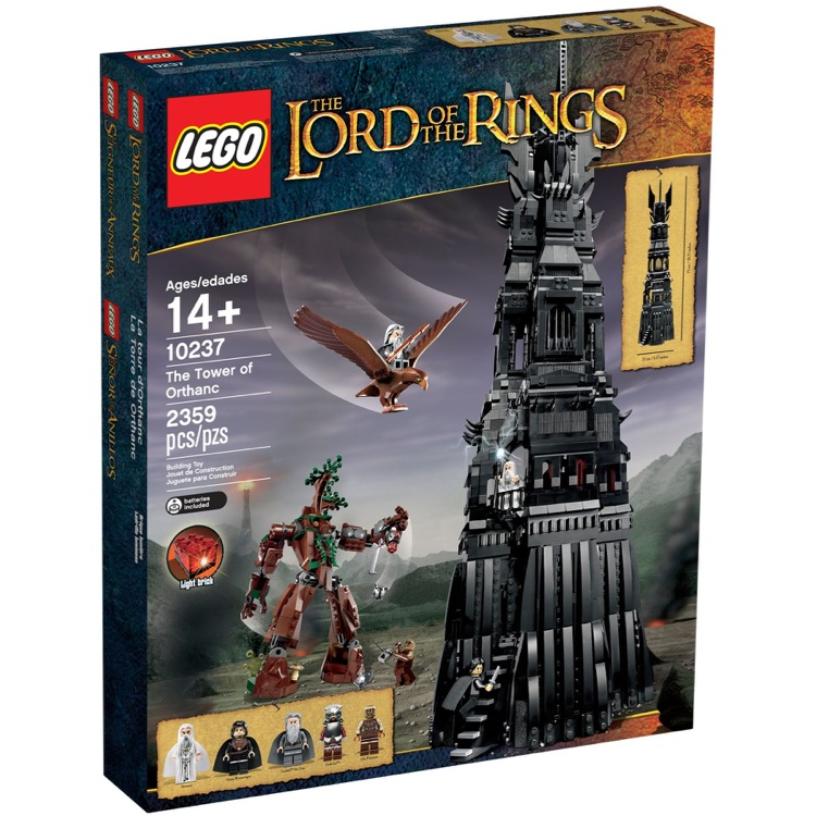 LEGO Lord of the Rings Sets: 10237 The Tower of Orthanc NEW