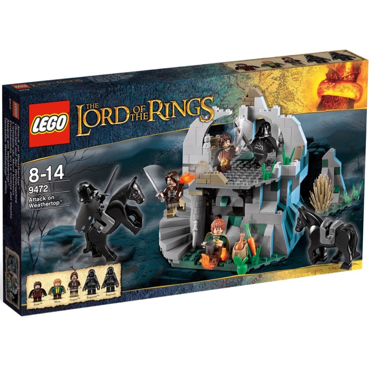 LEGO Lord of the Rings Sets: 9472 Attack on Weathertop
