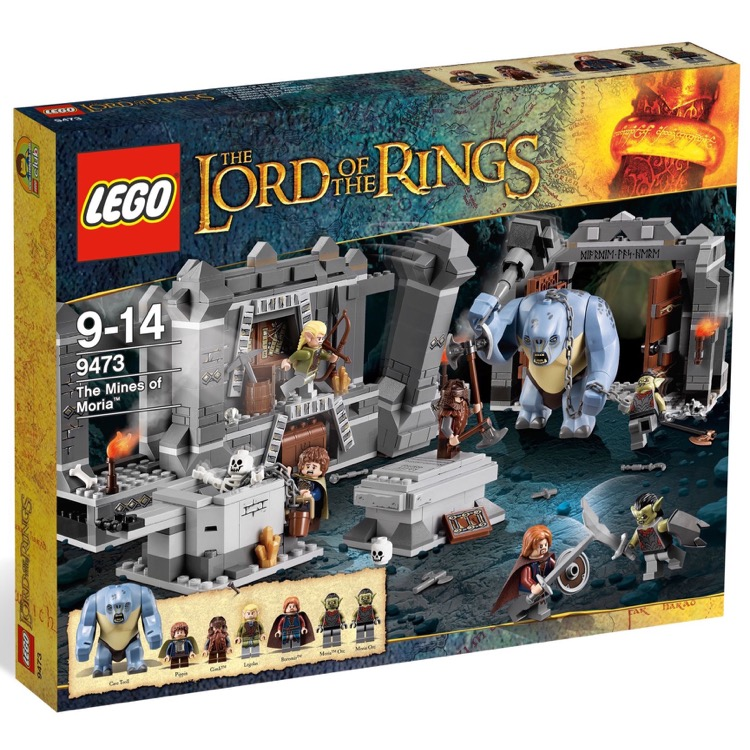 LEGO Lord of the Rings Sets: 9473 The Mines of Moria