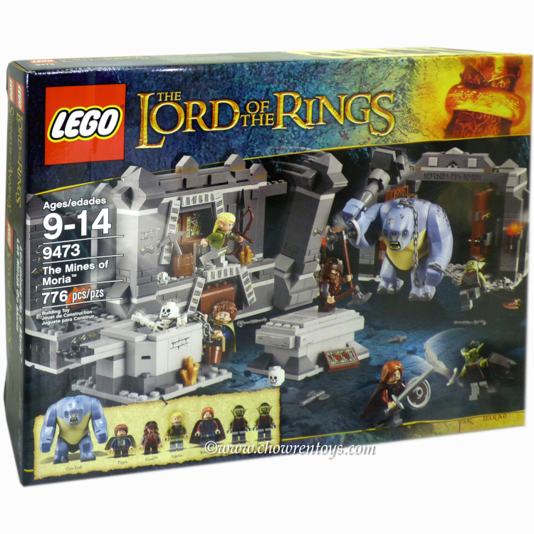 LEGO Lord of the Rings Sets: 9473 The Mines of Moria *Rough Shape*