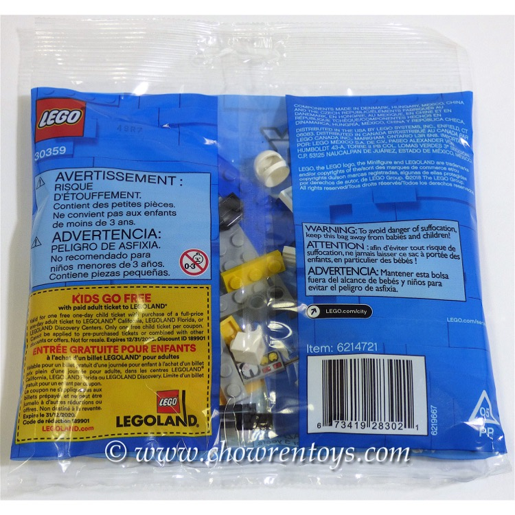 LEGO 30359 LEGO Police Water Plane promotional POLYBAG NEW!