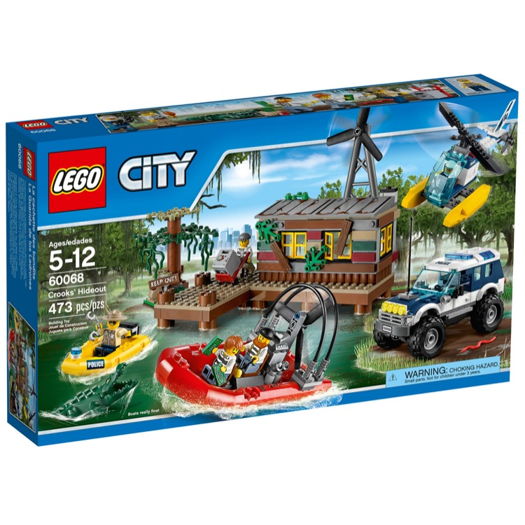 LEGO Town Sets: LEGO City Police 60068 Crooks's Hideout NEW