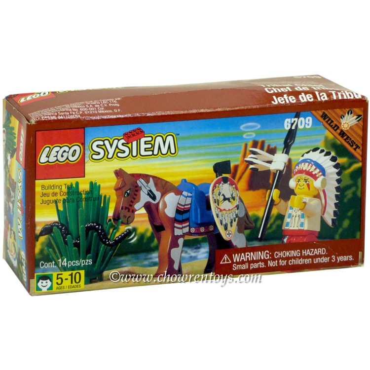 LEGO Western Sets: 6709 Tribal Chief NEW *Rough Shape*