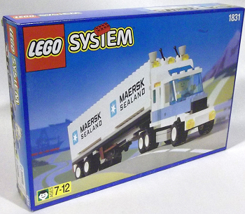 LEGO Town Sets: Promotional 1831 Maersk Tractor-Trailer Truck NEW