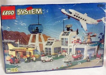 LEGO Town Sets: LEGO Flight 6597 Century Skyway NEW *Failed Seals-Sealed Contents*@R