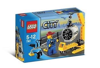 LEGO Town Sets: City 7901 Airplane Mechanic NEW