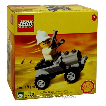 LEGO Adventurers Sets: Egypt SHELL Promotional 2541 Adventurers' Buggy NEW