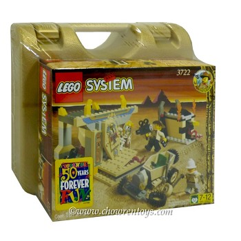 LEGO Adventurers Sets: Egypt 3722 Treasure Tomb NEW
