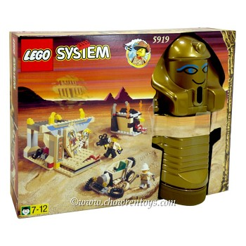 LEGO Adventurers Sets: Egypt 5919 The Valley of the Kings NEW *Damaged Box*