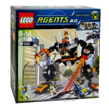 LEGO Agents Sets: 8970 Robo Attack NEW