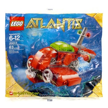 LEGO Atlantis Sets: 20013 Neptune Microsub NEW