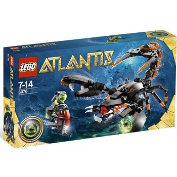 LEGO Atlantis Sets: 8076 Deep Sea Striker NEW