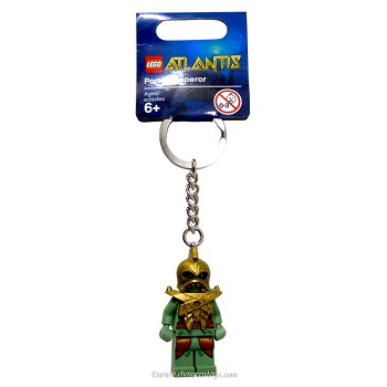 LEGO Atlantis Sets: 852907 Portal Emperor Key Chain NEW