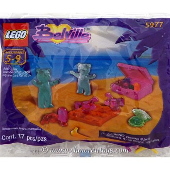 LEGO Belville Sets: 5977 Travel Friends (In-flight) NEW