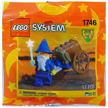 LEGO Castle Sets: Dragon Master 1746 Wizard's Cart NEW