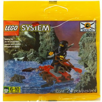 LEGO Castle Sets: Ninja 3017 Black River Ninja NEW
