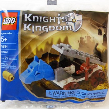 LEGO Castle Sets: Knights' Kingdom II 5994 Catapult NEW