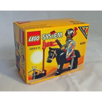 LEGO Castle Sets: Black Knights 6009 Black Knight NEW