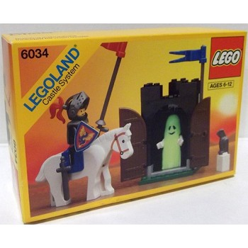LEGO Castle Sets: Black Knights 6034 Black Monarch's Ghost NEW *Rough Shape* @Y