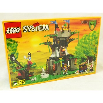LEGO Castle Sets: Dark Forest 6046 Hemlock Stronghold NEW