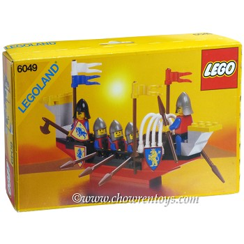 LEGO Castle Sets: Crusaders 6049 Viking Voyager NEW