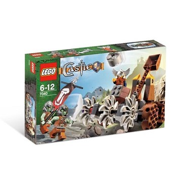 LEGO Castle Sets: Dwarves and Trolls 7040 Dwarves' Mine Defender NEW