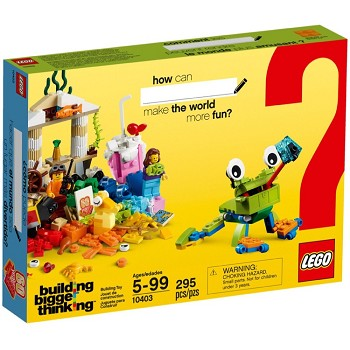 LEGO Classic Sets: 10403 World Fun NEW