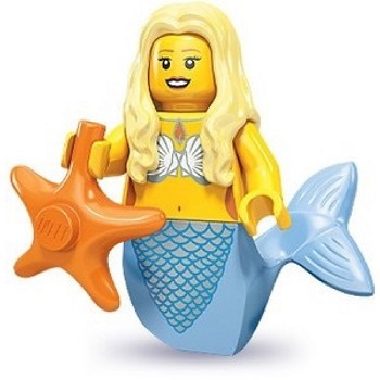 LEGO Collectible Minifigures: 71000 Series 9 Mermaid NEW