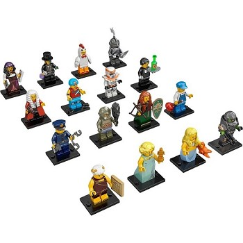 LEGO Collectible Minifigures: 71000 Series 9 Collection of all 16 NEW