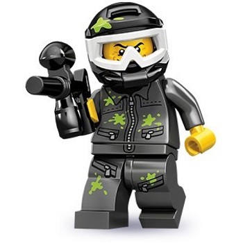 LEGO Collectible Minifigures: 71001 Series 10 Paintball Player NEW