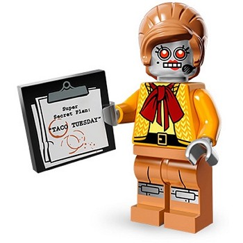 LEGO Collectible Minifigures: 71004 The LEGO Movie Series Velma Staplebot NEW (DO NOT LIST)