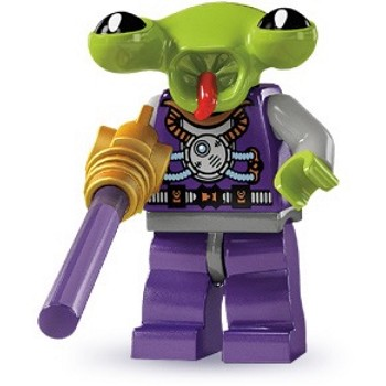 LEGO Collectible Minifigures: 8803 Series 3 Space Alien NEW