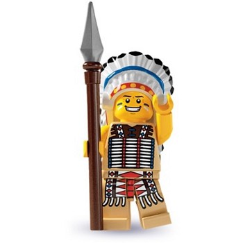 LEGO Collectible Minifigures: 8803 Series 3 Tribal Chief NEW