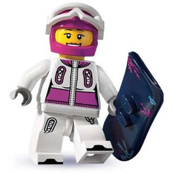 LEGO Collectible Minifigures: 8803 Series 3 Snowboarder NEW