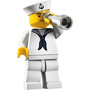 LEGO Collectible Minifigures: 8804 Series 4 Sailor NEW