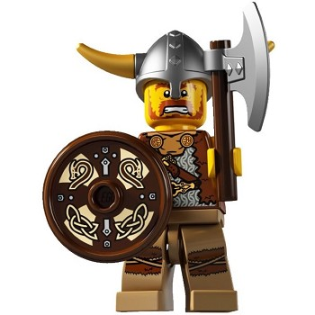 LEGO Collectible Minifigures: 8804 Series 4 Viking NEW