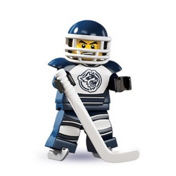 LEGO Collectible Minifigures: 8804 Series 4 Hockey Player NEW