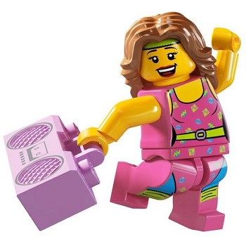 LEGO Collectible Minifigures: 8805 Series 5 Fitness Instructor NEW