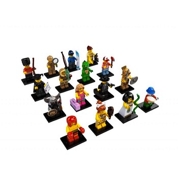 LEGO Collectible Minifigures: 8805 Series 5 A Collection of all 16 NEW