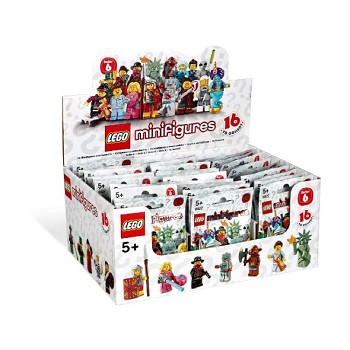 LEGO Collectible Minifigures: 8827 Series 6 (Sealed Box of 60) NEW