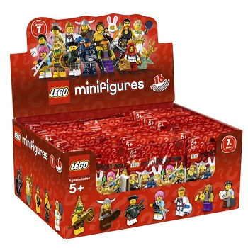 LEGO Collectible Minifigures: 8831 Series 7 (Sealed Box of 60) NEW