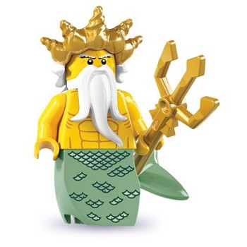 LEGO Collectible Minifigures: 8831 Series 7 Ocean King NEW