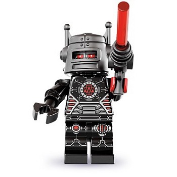 LEGO Collectible Minifigures: 8833 Series 8 Evil Robot NEW